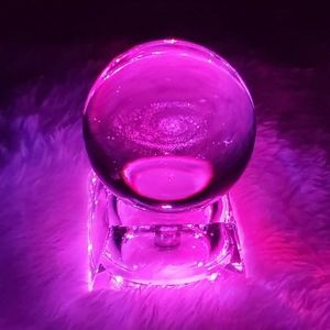 LED Crystal Ball Night Light Luminous Innovative